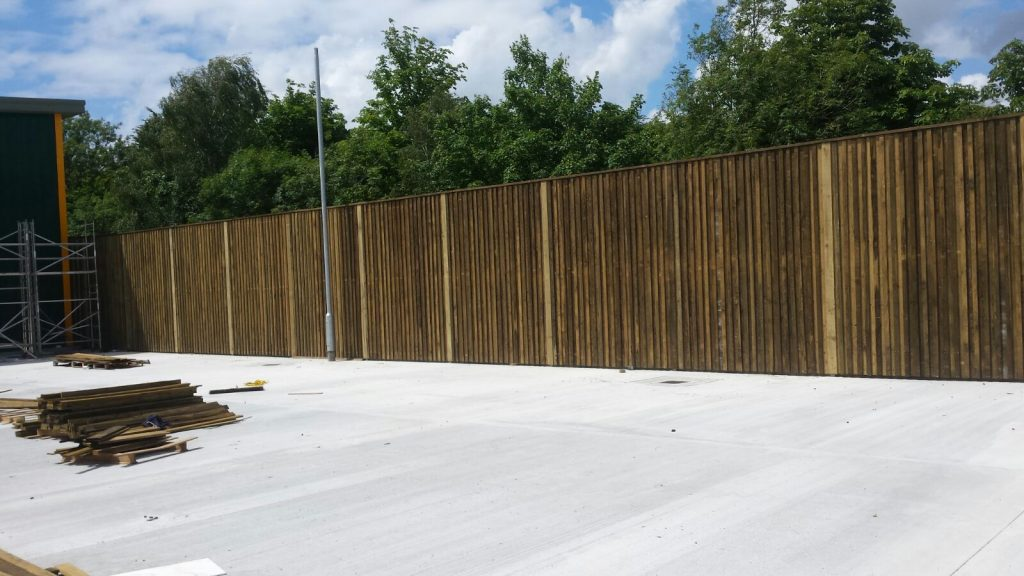 Acoustic Fencing 1 Cla Fabrications Professional