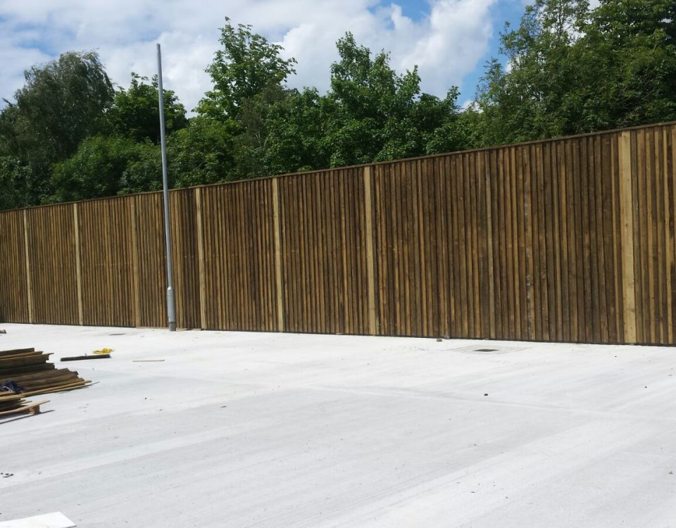 acoustic fencing
